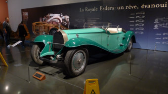 Musée National de l'Automobile - Collection Schlumpf in Mulhouse im Elsass
